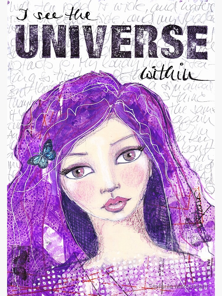 The universe within von AngelArt444