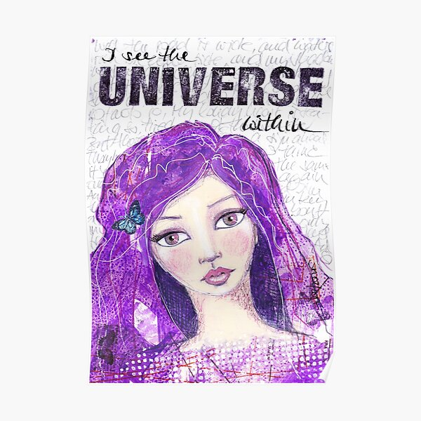 The universe within Poster