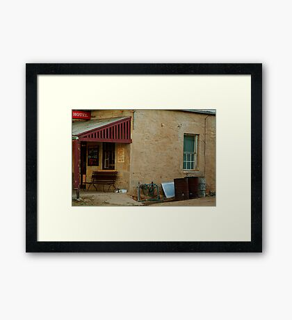 Hotel,Outback Tibooburra,N.S.W. Framed Print