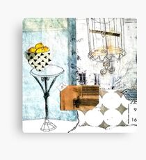 Notes From a Bluebird Canvas Print
