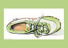 Green Sneaker by Mariana Musa