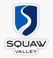 squaw valley Sticker