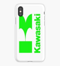Green 'Kawasaki'.... iPhone Case/Skin