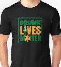 Funny Drunk Lives Matter Saint Patrick Day T-Shirt