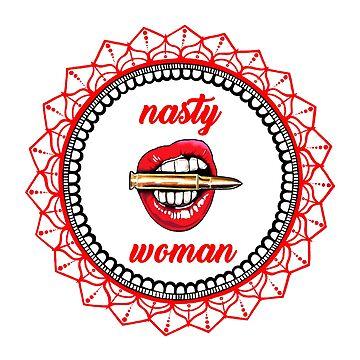 Nasty Woman by miabarnes
