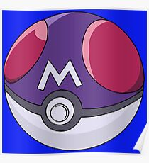 Poke Master Ball Poster