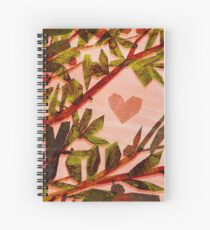 Romantic Spiral Notebook