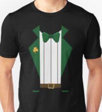 Saint Patrick's Day Leprechaun Costume Tuxedo  Unisex T-Shirt