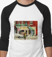 FAMOUS CANADIAN PAINTINGS BY ARTISTS OF CANADA WINTER URBAN SCENES CAROLE SPANDAU T-Shirt