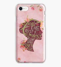 Feisty Feminist iPhone Case/Skin