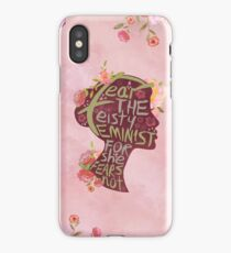 Feisty Feminist iPhone Case/Skin