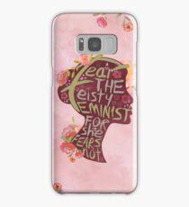 Feisty Feminist Samsung Galaxy Case/Skin