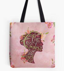 Feisty Feministin Tote Bag