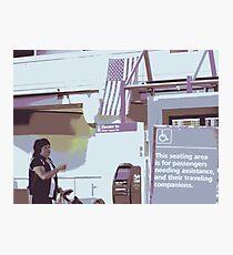 Assistance Photographic Print