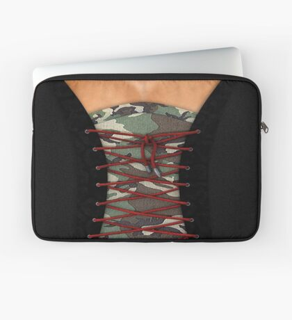 Camouflage corsage Laptop Sleeve