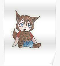 chibi werewolf Poster