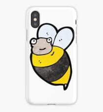 cartoon bee iPhone Case