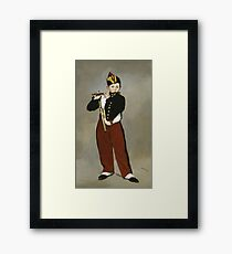 Edouard Manet - The Fifer Framed Print