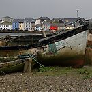 Old boats on Galway Bay by DHParsons