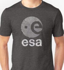 European Space Agency Vintage White V02 T-Shirt