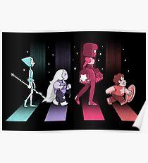 Crystal Gem Road Poster