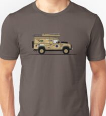 A Graphical Interpretation of the Defender 110 XD Fifty 50 Challenge T-Shirt