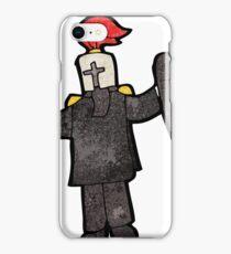 cartoon black knight iPhone Case/Skin