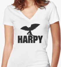 Harpy Women's Fitted V-Neck T-Shirt
