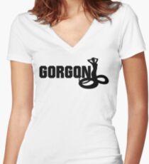 Gorgon Women's Fitted V-Neck T-Shirt