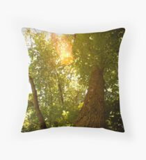 Tree to Infinity Throw Pillow