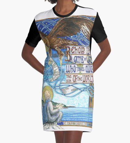 St. John the Evangelist Graphic T-Shirt Dress