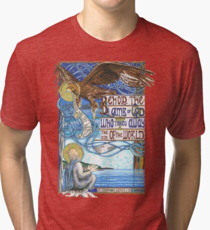 St. John the Evangelist Tri-blend T-Shirt