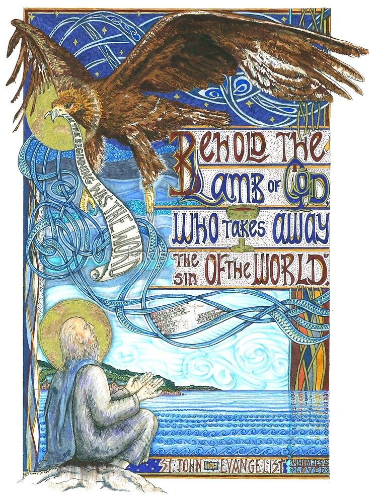 St. John the Evangelist by lindscriptorium
