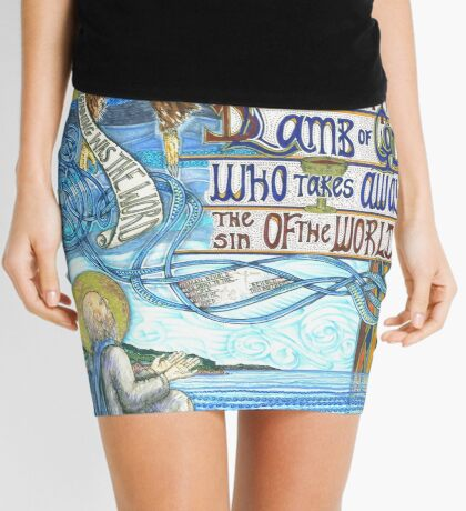 St. John the Evangelist Mini Skirt