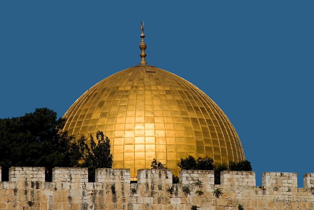 Dome of the Rock by Mary  Lane