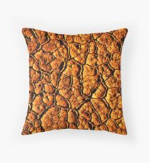 SCORCHED EARTH Throw Pillow