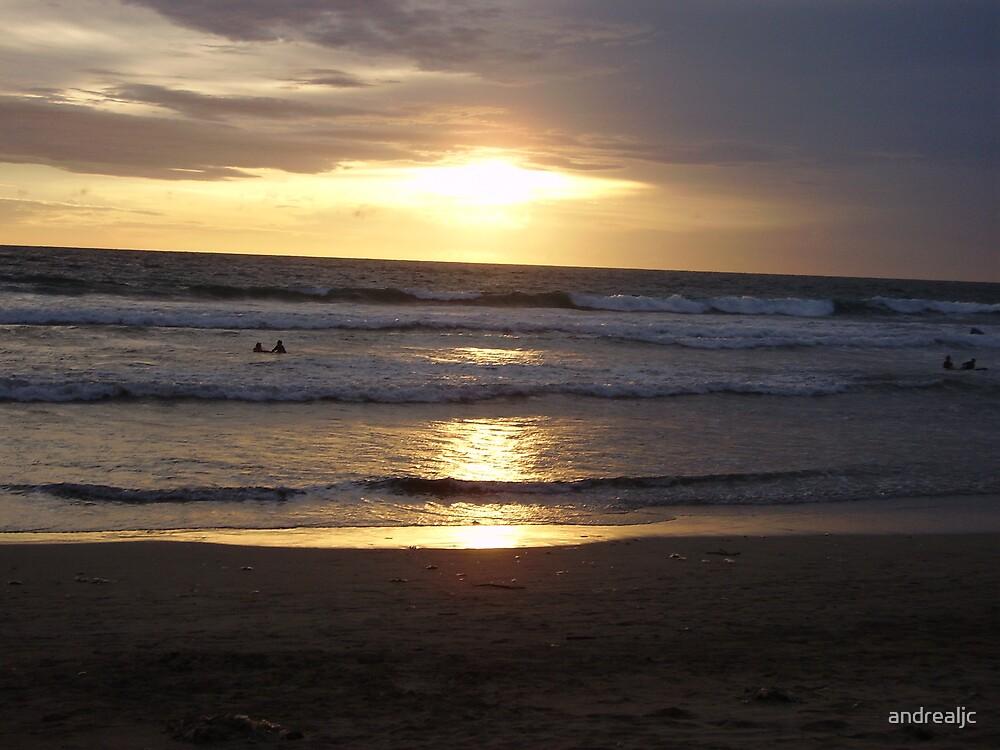Sunset over Krabie by andrealjc