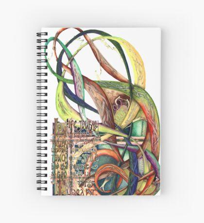 Life Journey Spiral Notebook