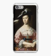 John Singleton Copley, Mrs. Samuel Quincy (Hannah Hill) iPhone Case/Skin