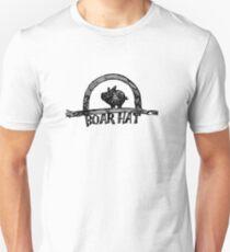 Das Boarhat Bar Logo Slim Fit T-Shirt