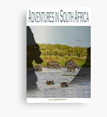 Adventures in south-Africa Canvas Print