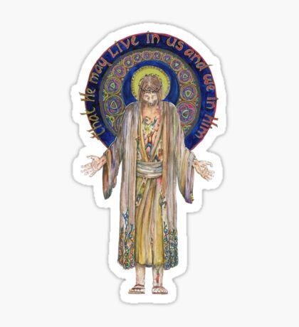 Life in Christ Sticker