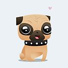 Pug by capdeville13