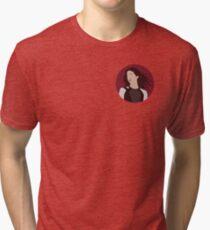 Katniss Everdeen Illustration  Tri-blend T-Shirt