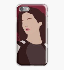Katniss Everdeen Illustration  iPhone Case/Skin