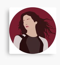 Katniss Everdeen Illustration  Canvas Print
