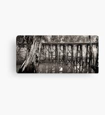 quantong rail bridge Canvas Print