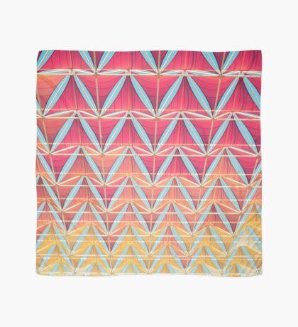 Vom rosa zum gelben Muster Tuch