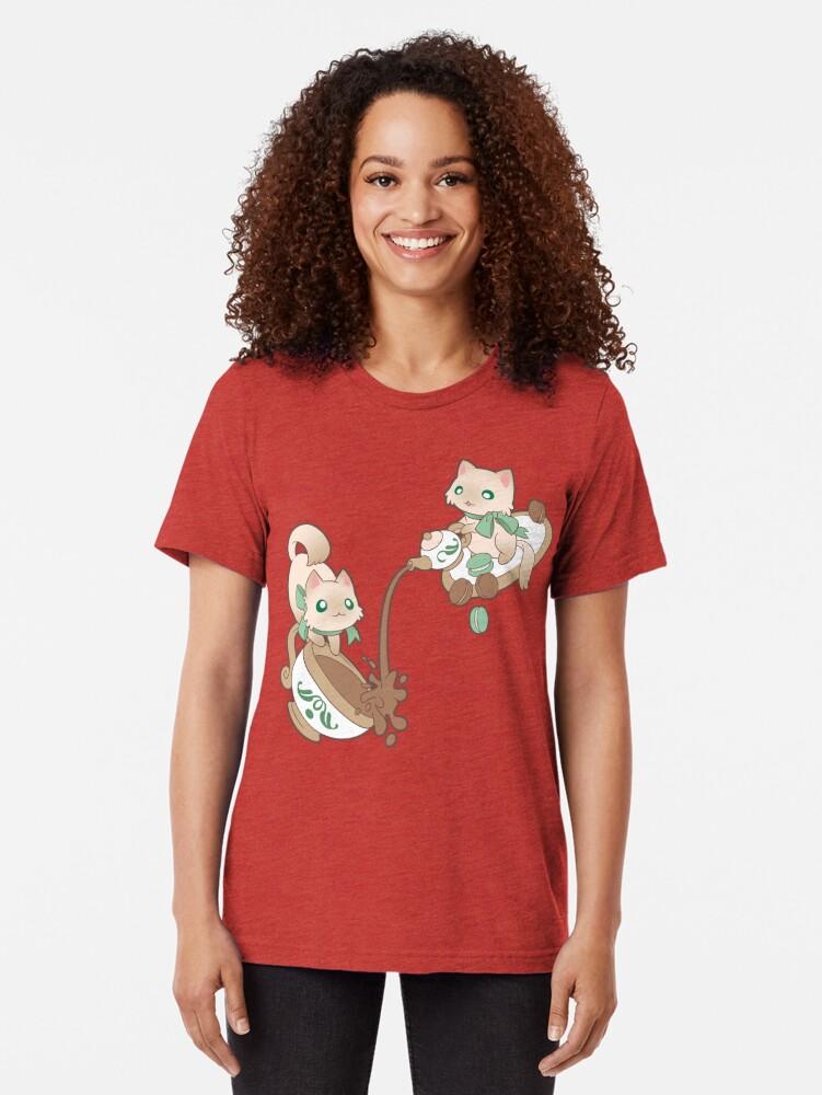 Alternate view of Kittea Time Tri-blend T-Shirt
