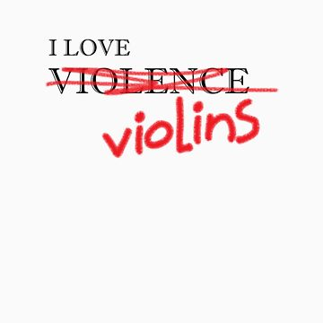 Violin Violence by Lisa1969